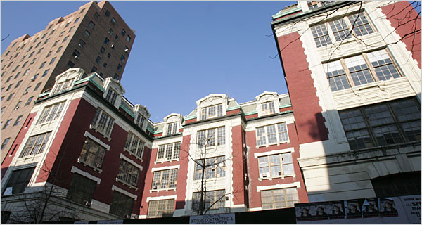 City issues permits for restoration work at P.S. 64