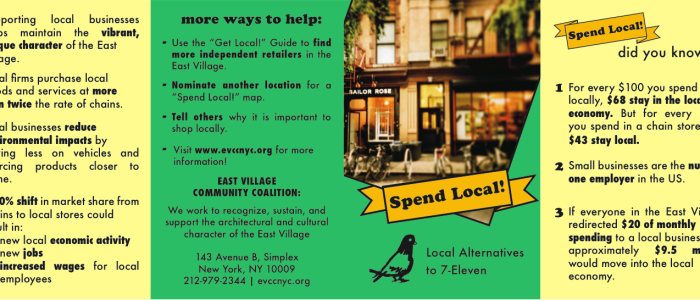 Get Local! Map of Local Alternatives to 7-Eleven