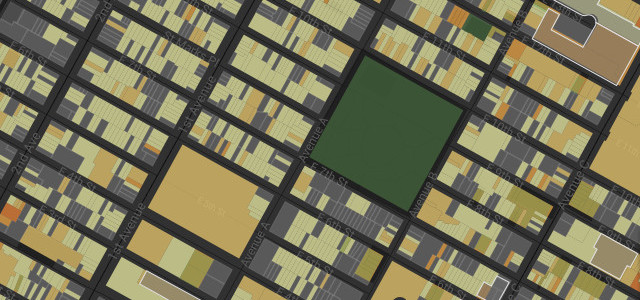 Accidental Skyline: A Map of Underbuilt Manhattan