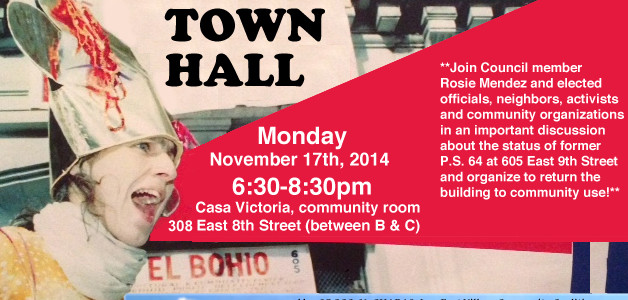 9/17: TOWN HALL to Save our Community Center