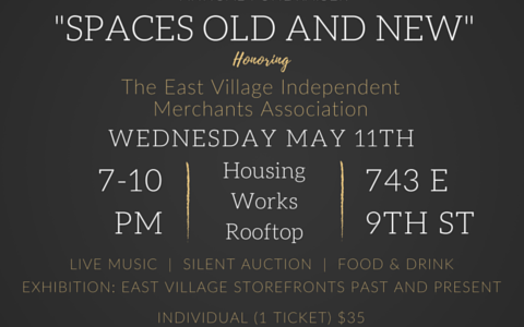 EVCC's Annual Fundraiser: Spaces Old and New – Early Bird Tickets!